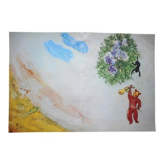 Vintage Marc Chagall Lithograph-Large Folio Size-c.1969