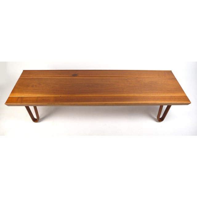 Modern Long-John Bench by Edward Wormley for Dunbar For Sale - Image 3 of 6