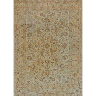 Mansour Handwoven Agra Rug - 6′ × 8′3″ For Sale