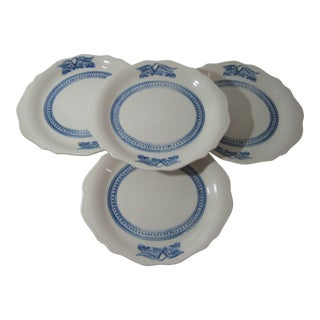 Early 20th Century Syracuse Platters Dishes Plates- Set of 4 For Sale