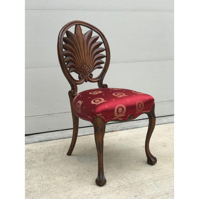 Brown Mid 19th Century Antique Walnut Austrian Chairs- Set of 4 For Sale - Image 8 of 12