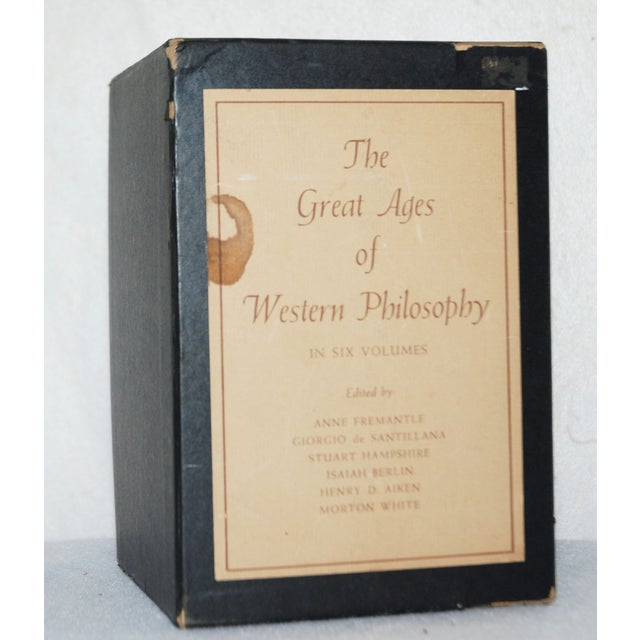 Vintage Ages of Philosophy Books - Set of 6 - Image 4 of 5