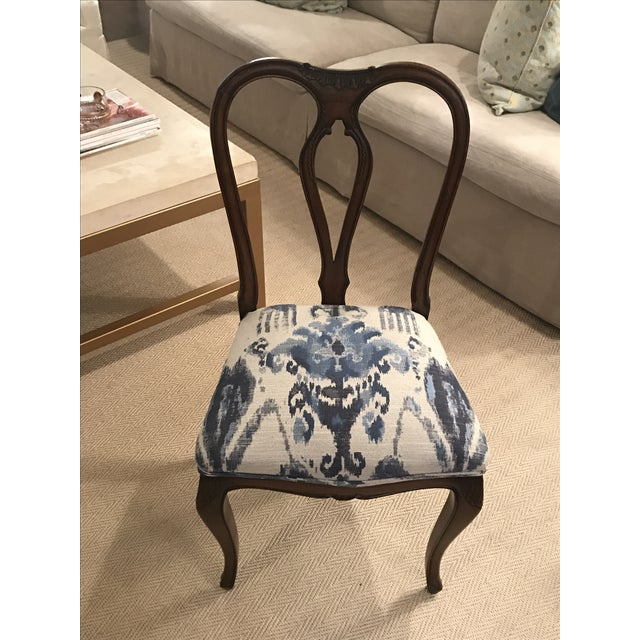 Antique French Dining Chairs - Set of 6 - Image 3 of 5