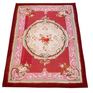 Aubusson Scatter Rug For Sale