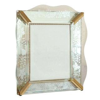 Vintage Art Deco Picture Frame For Sale