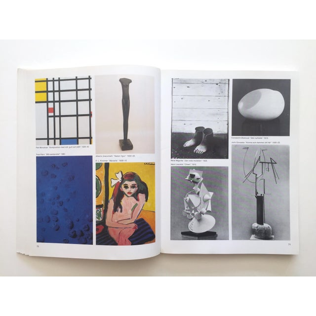 """Pablo Picasso """" Moderna Museet Stockholm 1958 - 1983 """" Rare Vintage 1st Edition 25th Anniversary Collector's Modern Art Book For Sale - Image 4 of 13"""