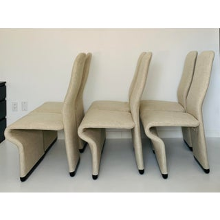 1970s Vintage Jan Ekselius High Back Sculptural Dining Chairs - Set of 6 Preview