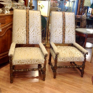 Pair of Reclining Plantation Chairs Preview