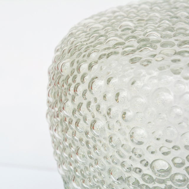 1970s Large Glass Outdoor Wall Lamp, Germany For Sale - Image 4 of 13