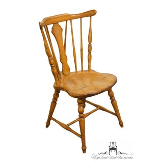 Late 20th Century Vintage Cushman Colonial Maple Dining Side Chair Preview