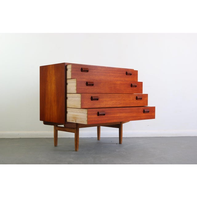 Mid-Century Modern Danish Mid Century Modern Borge Mogensen Teak and Oak Chest of Drawers/Buffet For Sale - Image 3 of 6