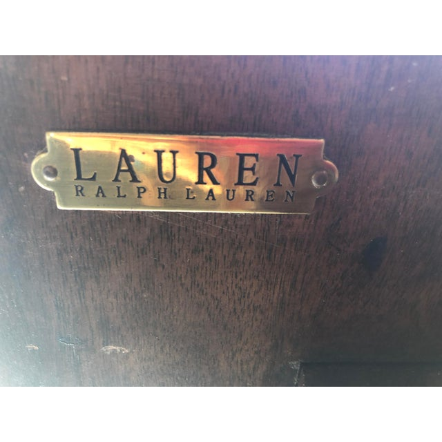 Ralph Lauren Tavern Accent Table For Sale - Image 9 of 9