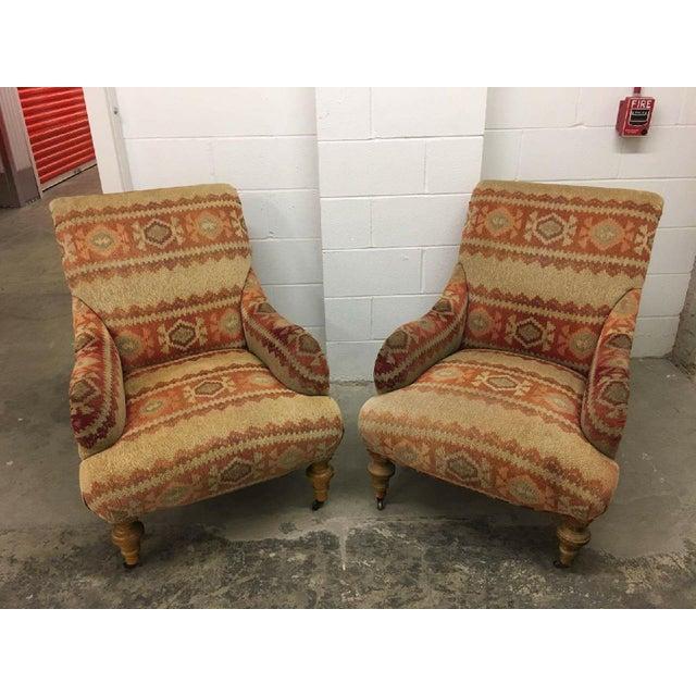 Lee industries arm chairs a pair chairish - Cb industry chair ...