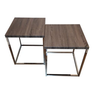 Modern Coffee-Side Tables - a Pair