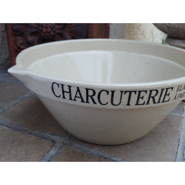 French Charcuterie Mixing Bowl - Image 4 of 5