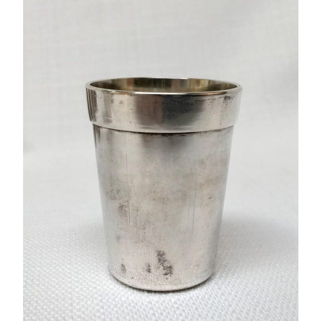 Vintage Sterling Sake Cups - Set of 8 For Sale - Image 6 of 9