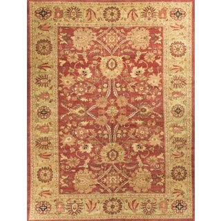 Traditional Hand Woven Rug - 10'0 X 13'3 For Sale