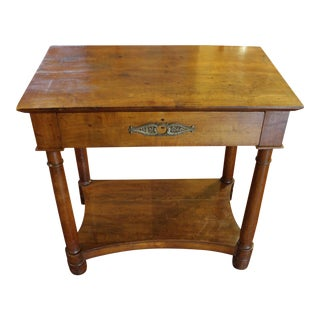 French Empire Console Table For Sale