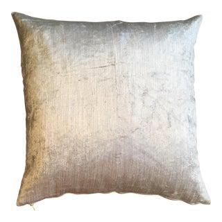 Cream Fabric Pillow