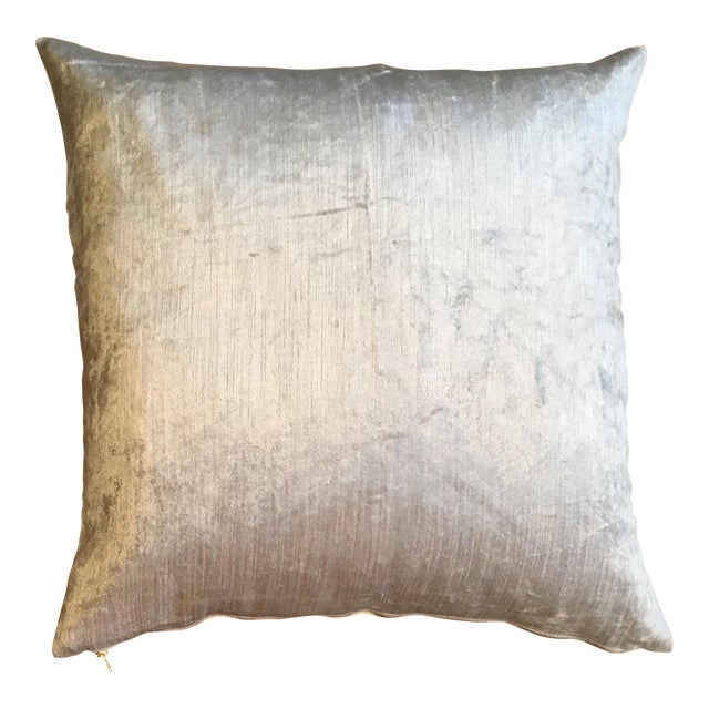 Cream Fabric Pillow - Image 1 of 3