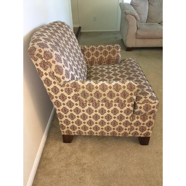 Ethan Allen Kilim Club Chair - Image 3 of 7