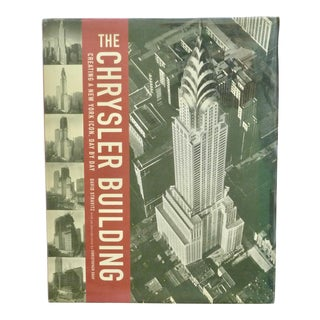 The Chrysler Building Book by David Stravitz For Sale