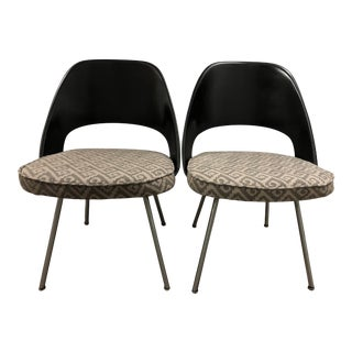 Restored Knoll Eero Saarinen 72 Executive Side Chairs- a Pair For Sale