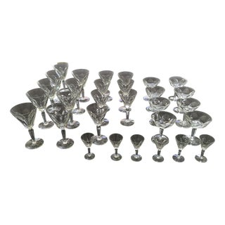 "Waterford Crystal ""Sheila"" Stemware - 30 Pieces"