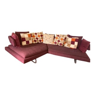 Arne Corner Sofa by B&b Italia Design Antonio Citterio For Sale