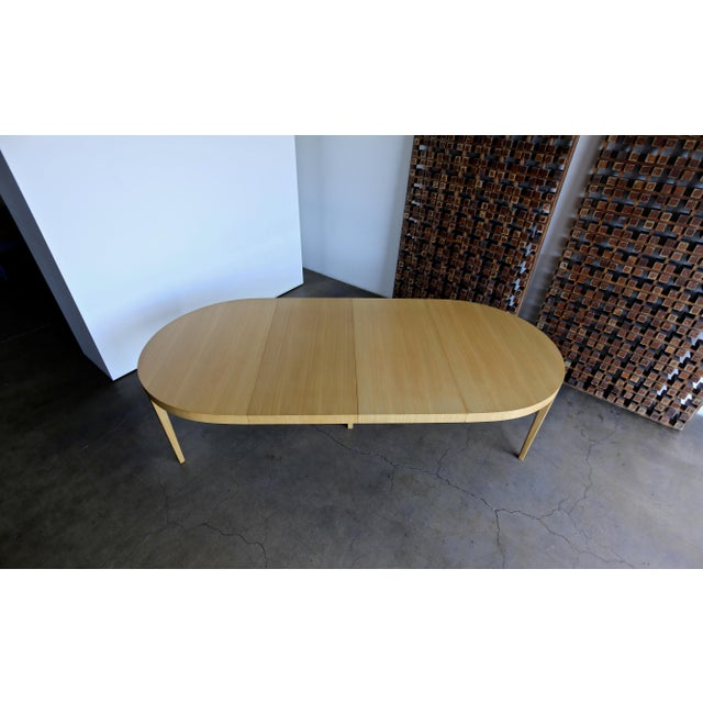 Edward Wormley Dining Table for Dunbar Circa 1950 For Sale - Image 11 of 13