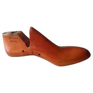 Shoe Manufacturer's Cobbler's Wood Mold For Sale