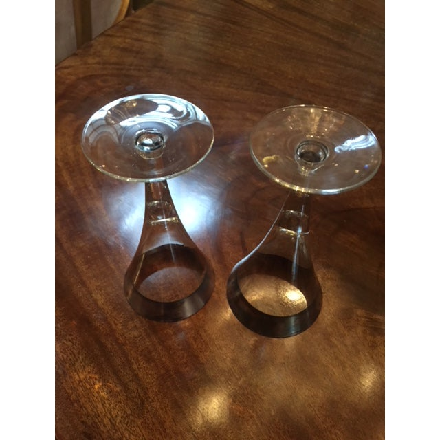 Vintage Dorothy Thorp Wine Glasses- Set of 16 For Sale In Los Angeles - Image 6 of 8