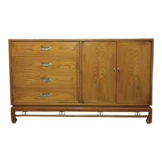 "1960s Mid-Century Modern American of Martinsville ""Ming"" Walnut Buffet For Sale"