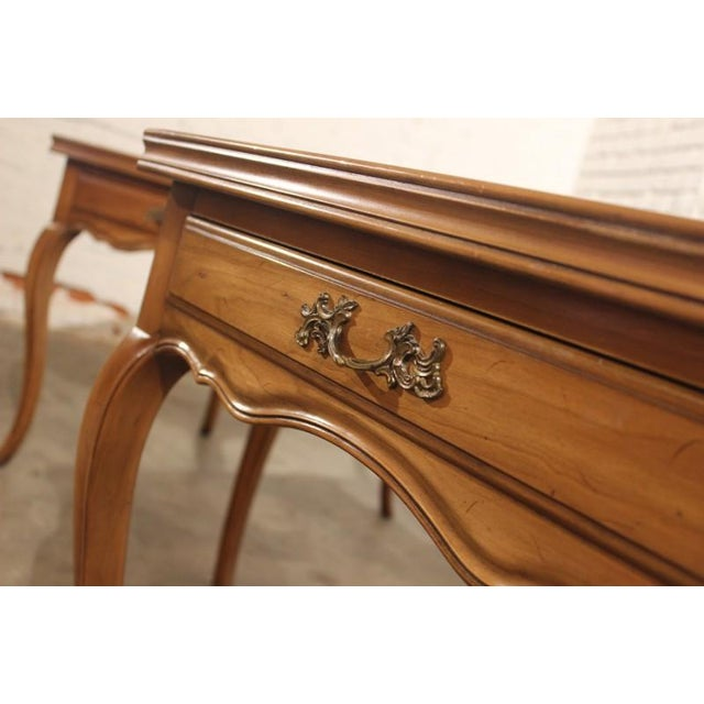 Widdicomb French Provincial Side Tables - A Pair - Image 3 of 5