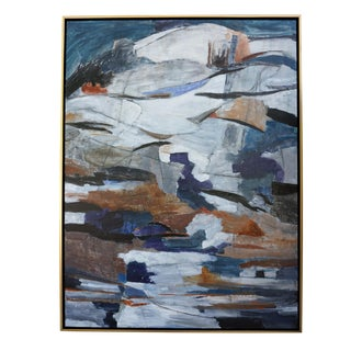 "Abstract Laurie MacMillan ""Above and Beyond"" Landscape For Sale"
