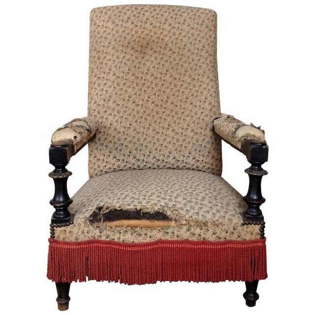 French 19th Century Armchair - Image 10 of 10