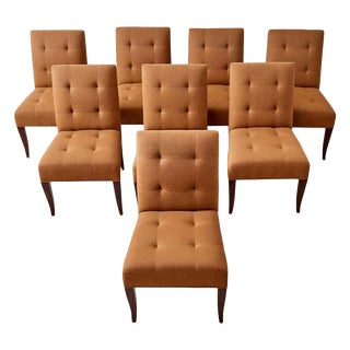 Set of Eight John Hutton for Donghia Dining Chairs For Sale