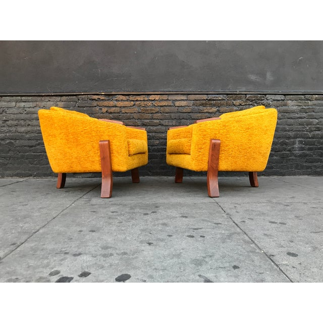 Mid Century Lounge Chairs by Chelmode Furniture - A Pair For Sale - Image 12 of 13