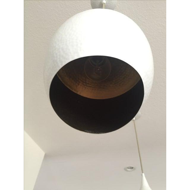 White Arteriors Ziggy Pendant Light For Sale - Image 8 of 8