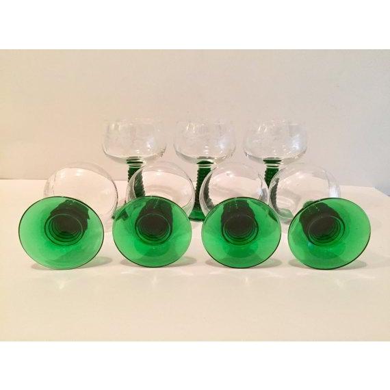Crystal Roemer Rhine Wine Glasses - Set of 7 - Image 6 of 6
