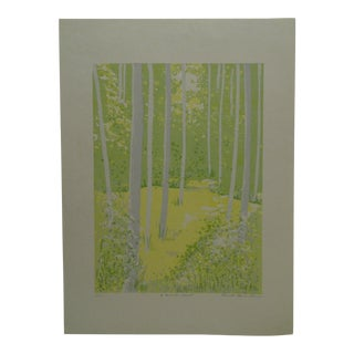 """Limited Edition -- Signed Numbered (7/20) Print -- """"A Favorite Trail"""" by Ronald Clark Brown"""