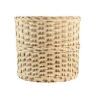 Jumbo Wicker Planter Basket