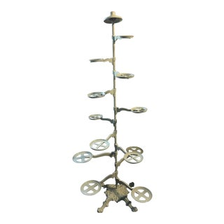 Cast Iron Plant Stand For Sale