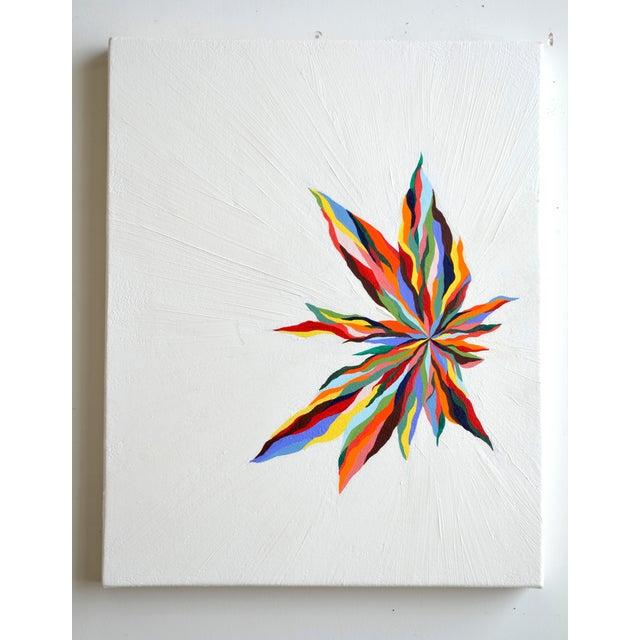 """Original """"Luz Del Fuego"""" Painting - Image 4 of 4"""