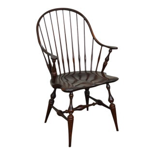 E.R. Buck Hand Crafted Continuous Arm Windsor Chair