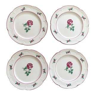 Tiffany & Co. Strasbourg Flowers Plates - Set of 4 For Sale