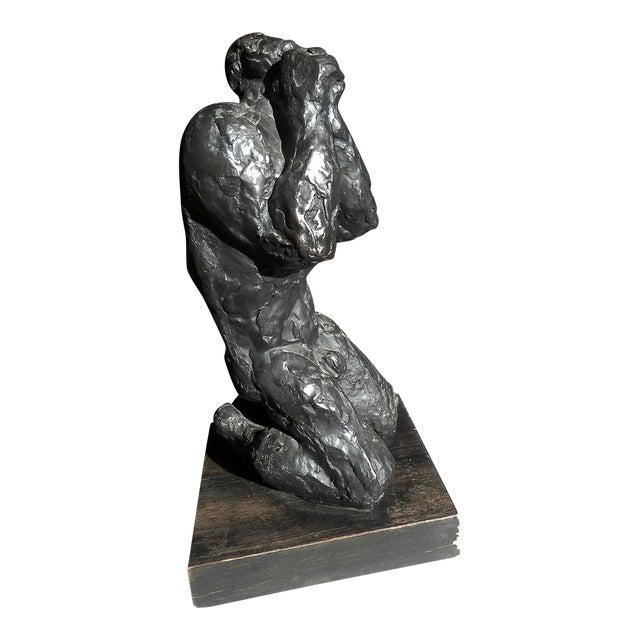 1970s Vintage Nathan Rapoport Job Sculpture For Sale