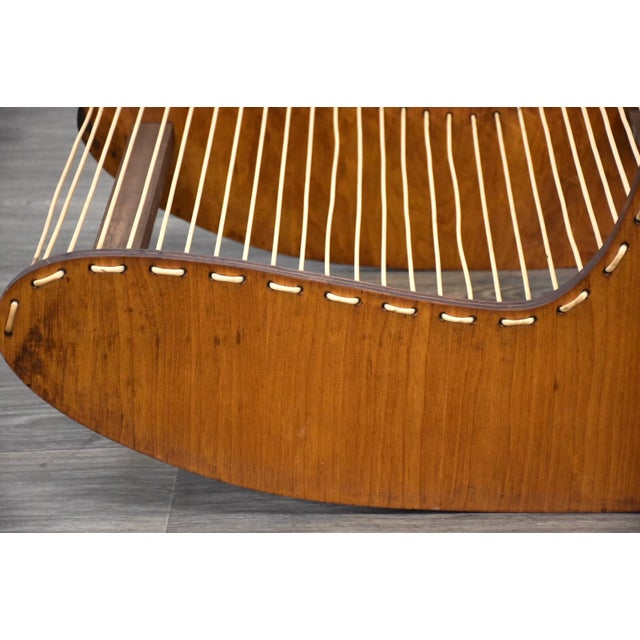 1960s Tubbs Modern Low Lounge Chair Designed by Carl Koch For Sale - Image 5 of 8