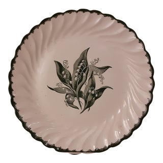 Royal China Dior Style 'Lily of the Valley' Plate For Sale