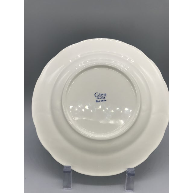 Gien China Co. opened in 1821 in Gien, France. The owner was an Englishman who introduced the Earthenware process to...